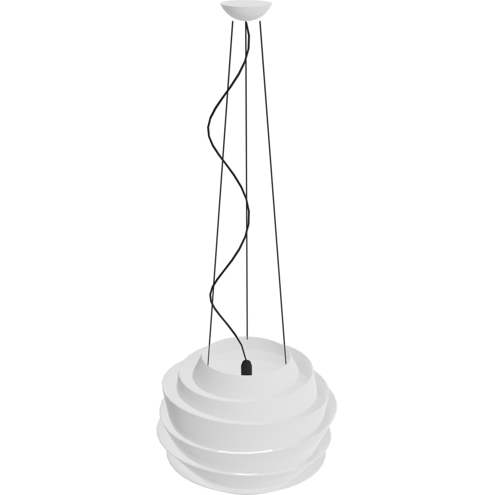 Free try out of Le soleil Pendant Lamp from Foscarini in 3D, VR and AR