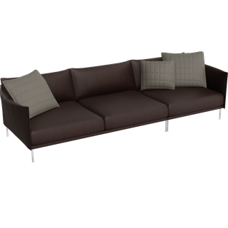 Preview of Gentry leather 3-seat Sofa